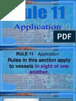 Rule 11 - Application