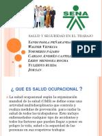 Diapositivas de Salud Opucacional SENA