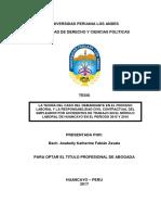 LA TEORÍA DEL CASO DEL DEMANDANTE EN EL PROCESO LABORAL Y LA RESPONSABILIDAD CIVIL CONTRACTUAL DE.pdf