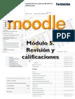 Manual de Moodle 3.0 Módulo 5 Revision y Calificaciones