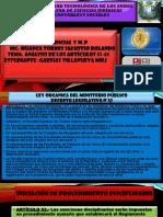 ley organica del ministerio publico del peru articulo 51- 61