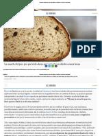 La Muerte Del Pan_ Por Qué El de Ahora Se 'Convierte' en Chicle en Unas Horas