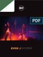 Brochure - Evox j System