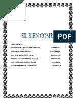 1 EL BIEN COMUN