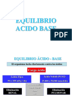 Equil. Acido Base