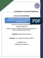 PROCESO DE ATENCIÓN DE ENFERMERÍA A PACIENTE PEDIÁTRICO CON ASMA BRONQUIAL