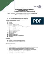 Vacantes Banco de México. Oficina de Investigación y Desarrollo