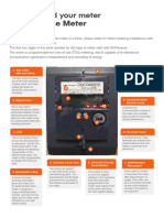 How to Read Your Three Phase Meter 0540