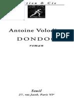 Dondog - Antoine Volodine.epub