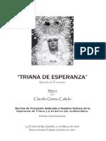 Triana de Esperanza (Claudio Gomez)Guion