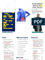 ALSANGEDY BULLETS for PACES Ankylosing Spondylitis 2nd Edition