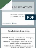 Estructuras Gramaticales El Parrafo