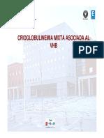 Crioglobulinemia mixta asociada a VHB