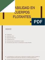 Estabilidad de Cuerpos Flotantes - Drue Tuesta García