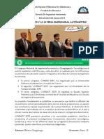 III Coniadt 2019 y La III Feria Empresarial Automotriz