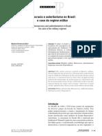 Texto Burocracia e Autoritarismo No Brasil