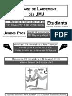 Semaine de lancement des JMJ