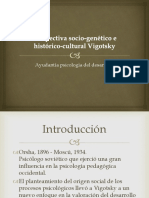 Perspectiva Socio-genético e Histórico-cultural Vigotsky