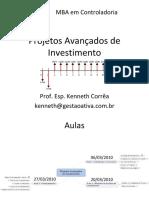 Analise de Projeto Custo Beneficio e Outros