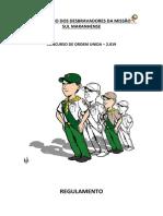 Ordem Unida - Regulamento Msma