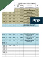 Planilha de Controles Gerais de Produção