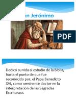 Diapositivas San Jerónimo