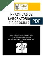 Practicas de Laboratorio de Fisicoquímica II Uptc 2018 - Copia