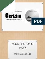 CONFLICTOS O PAZ
