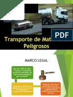 Transporte de Materiales Peligrosos