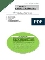 Tema 0. El Proceso Tecnológico