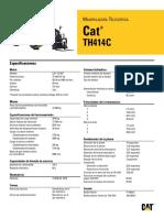 Cat Th414c Manipuladora Telescópica