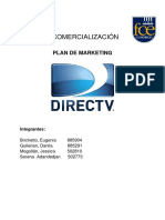 Plan de Mkt DirecTV Comercializacion(1)