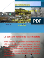 La Contaminacion de Las Capas de La Tierra