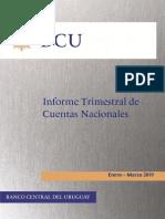 Informe Trimestral de Cuentas Nacionales BCU