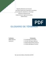 Glosario de Terminos Ingenieria Economica