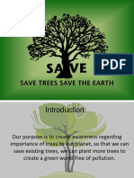 Save Trees Save Earth