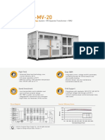 SUNGROW_SG2500HV-MV-20 datasheet