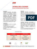 Cograem Industrial Bio-Cleaner