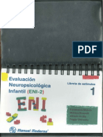 ENI-2 Libreta de Estímulos 1 Pequeña