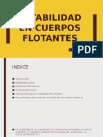 Estabilidad de cuerpos flotantes - Drue Tuesta García.pptx