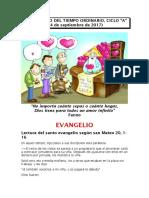 XXV DOMINGO DEL TIEMPO ORDINARIO, CICLO A.docx