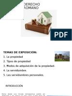 DERECHO ROMANO la propiedad.pptx