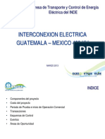 Interconexion Guatemala Mexico 400kV