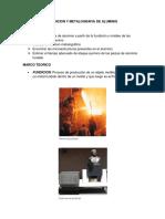 Fundicion y Metalografia de Aluminio
