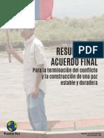 RESUMEN ACUERDOS DE PAZ 2016