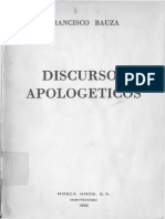 Bauza - Discursos Apologeticos 1952 A