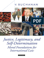[Oxford Political Theory] Allen Buchanan - Justice, Legitimacy, And Self-Determination_ Moral Foundations for International Law (2007, Oxford University Press, USA)