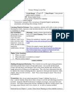 Resume Writing Lesson Plan (1)