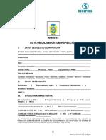 Certificado de Medicion de Puesta a Tierra
