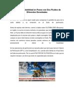 Factor de Flotabilidad en Pozos Con Dos Fluidos de Diferentes Densidades
